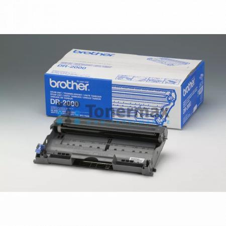 Brother DR-2000, DR2000, zobrazovací jednotka originální pro tiskárny Brother DCP-7010, DCP-7010L, DCP-7025, DCP-7025N, FAX-2820, FAX-2825, FAX-2920, HL-2030, HL-2032, HL-2040, HL-2070N, MFC-7225N, MFC-7420, MFC-7820N
