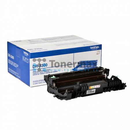 Brother DR-3300, DR3300, zobrazovací jednotka originální pro tiskárny Brother DCP-8110DN, DCP-8250DN, HL-5440D, HL-5450DN, HL-5450DNT, HL-5470DW, HL-6180DW, HL-6180DWT, MFC-8510DN, MFC-8520DN, MFC-8950DW, MFC-8950DWT