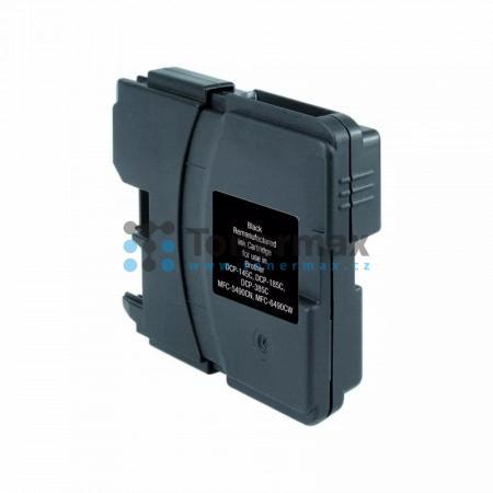 Brother LC-1100BK, LC1100BK, kompatibilní cartridge pro tiskárny Brother DCP-185C, DCP-383C, DCP-385C, DCP-387C, DCP-395CN, DCP-585CW, DCP-6690CW, DCP-J715W, MFC-490CW, MFC-790CW, MFC-795CW, MFC-990CW, MFC-5490CN, MFC-5890CN, MFC-5895CW, MFC-6490CW, MFC-6
