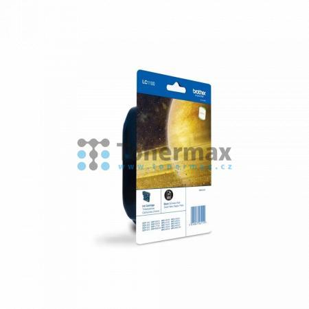 Brother LC-1100BK, LC1100BK, originální cartridge pro tiskárny Brother DCP-185C, DCP-383C, DCP-385C, DCP-387C, DCP-395CN, DCP-585CW, DCP-6690CW, DCP-J715W, MFC-490CW, MFC-790CW, MFC-795CW, MFC-990CW, MFC-5490CN, MFC-5890CN, MFC-5895CW, MFC-6490CW, MFC-689