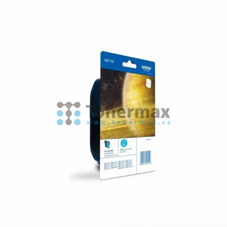 Brother LC-1100C, LC1100C, originální cartridge pro tiskárny Brother DCP-185C, DCP-383C, DCP-385C, DCP-387C, DCP-395CN, DCP-585CW, DCP-6690CW, DCP-J715W, MFC-490CW, MFC-790CW, MFC-795CW, MFC-990CW, MFC-5490CN, MFC-5890CN, MFC-5895CW, MFC-6490CW, MFC-6890C