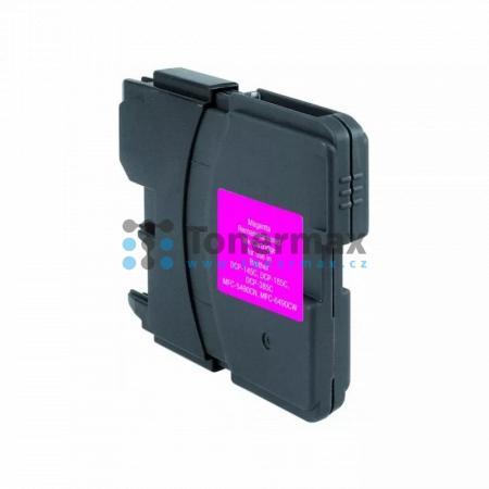 Brother LC-1100M, LC1100M, kompatibilní cartridge pro tiskárny Brother DCP-185C, DCP-383C, DCP-385C, DCP-387C, DCP-395CN, DCP-585CW, DCP-6690CW, DCP-J715W, MFC-490CW, MFC-790CW, MFC-795CW, MFC-990CW, MFC-5490CN, MFC-5890CN, MFC-5895CW, MFC-6490CW, MFC-689