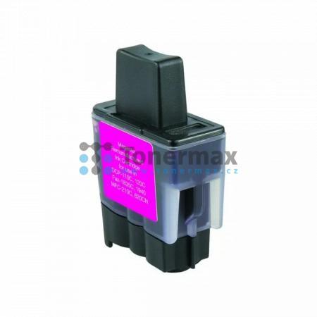 Brother LC-900M, LC900M, kompatibilní cartridge pro tiskárny Brother DCP-110C, DCP-115C, DCP-117C, DCP-120C, DCP-310CN, DCP-315CN, DCP-340CW, FAX-1835C, FAX-1840C, FAX-1940CN, FAX-2440C, MFC-210C, MFC-215C, MFC-410CN, MFC-425CN, MFC-620CN, MFC-640CW, MFC-