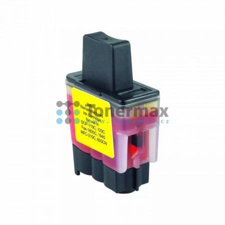 Brother LC-900Y, LC900Y, kompatibilní cartridge pro tiskárny Brother DCP-110C, DCP-115C, DCP-117C, DCP-120C, DCP-310CN, DCP-315CN, DCP-340CW, FAX-1835C, FAX-1840C, FAX-1940CN, FAX-2440C, MFC-210C, MFC-215C, MFC-410CN, MFC-425CN, MFC-620CN, MFC-640CW, MFC-
