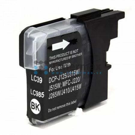 Brother LC-985BK, LC985BK, kompatibilní cartridge pro tiskárny Brother DCP-J125, DCP-J140W, DCP-J315W, DCP-J515W, MFC-J220, MFC-J265W, MFC-J410, MFC-J415W