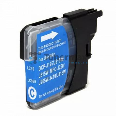 Brother LC-985C, LC985C, kompatibilní cartridge pro tiskárny Brother DCP-J125, DCP-J140W, DCP-J315W, DCP-J515W, MFC-J220, MFC-J265W, MFC-J410, MFC-J415W