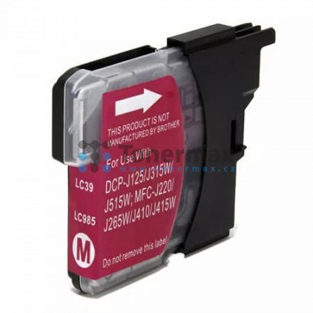 Brother LC-985M, LC985M, kompatibilní cartridge pro tiskárny Brother DCP-J125, DCP-J140W, DCP-J315W, DCP-J515W, MFC-J220, MFC-J265W, MFC-J410, MFC-J415W