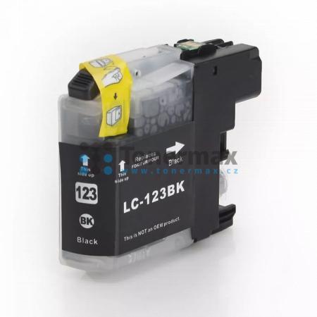 Brother LC123BK (LC123), kompatibilní cartridge pro tiskárny Brother DCP-J132W, DCP-J152W, DCP-J172W, DCP-J552DW, DCP-J752DW, DCP-J4110DW, MFC-J245, MFC-J470DW, MFC-J650DW, MFC-J870DW, MFC-J4410DW, MFC-J4510DW, MFC-J4610DW, MFC-J4710DW, MFC-J6520DW, MFC-J