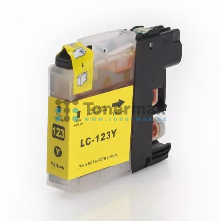 Brother LC123Y (LC123), kompatibilní cartridge pro tiskárny Brother DCP-J132W, DCP-J152W, DCP-J172W, DCP-J552DW, DCP-J752DW, DCP-J4110DW, MFC-J245, MFC-J470DW, MFC-J650DW, MFC-J870DW, MFC-J4410DW, MFC-J4510DW, MFC-J4610DW, MFC-J4710DW, MFC-J6520DW, MFC-J6
