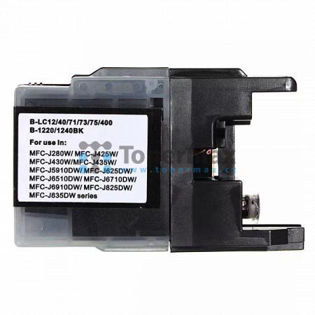 Brother LC1240BK (LC1240), kompatibilní cartridge pro tiskárny Brother DCP-J525W, DCP-J725DW, DCP-J925DW, MFC-J430W, MFC-J625DW, MFC-J825DW, MFC-J5910DW, MFC-J6510DW, MFC-J6710DW, MFC-J6910DW
