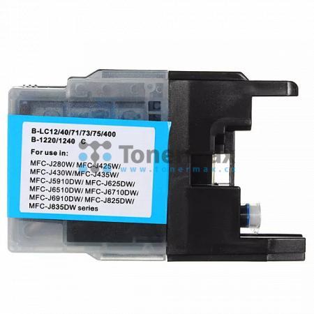 Brother LC1240C (LC1240), kompatibilní cartridge pro tiskárny Brother DCP-J525W, DCP-J725DW, DCP-J925DW, MFC-J430W, MFC-J625DW, MFC-J825DW, MFC-J5910DW, MFC-J6510DW, MFC-J6710DW, MFC-J6910DW
