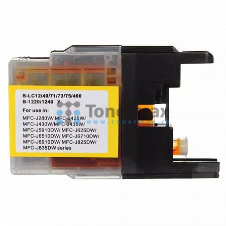 Brother LC1240Y (LC1240), kompatibilní cartridge pro tiskárny Brother DCP-J525W, DCP-J725DW, DCP-J925DW, MFC-J430W, MFC-J625DW, MFC-J825DW, MFC-J5910DW, MFC-J6510DW, MFC-J6710DW, MFC-J6910DW