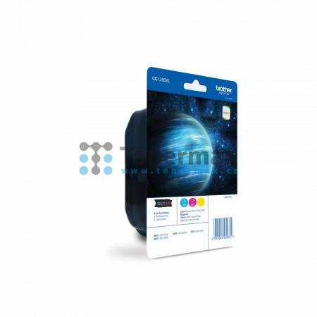 Brother LC1280XL Rainbow Pack (LC1280XLRBWBP), originální cartridge pro tiskárny Brother MFC-J5910DW, MFC-J6510DW, MFC-J6710DW, MFC-J6910DW