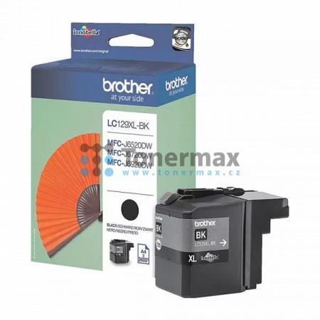 Brother LC129XL-BK (LC129XL), originální cartridge pro tiskárny Brother MFC-J6520DW, MFC-J6720DW, MFC-J6920DW