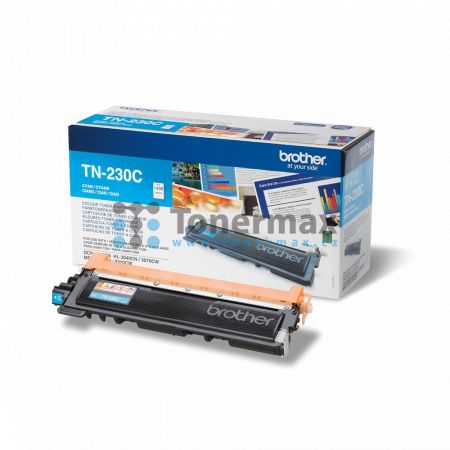 Brother TN-230C, TN230C, originální toner pro tiskárny Brother DCP-9010CN, HL-3040CN, HL-3070CW, MFC-9120CN, MFC-9320CW