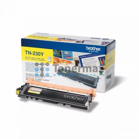 Brother TN-230Y, TN230Y, originální toner pro tiskárny Brother DCP-9010CN, HL-3040CN, HL-3070CW, MFC-9120CN, MFC-9320CW