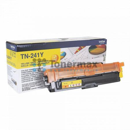 Brother TN-241Y, TN241Y, originální toner pro tiskárny Brother DCP-9015CDW, DCP-9020CDW, HL-3140CW, HL-3150CDW, HL-3170CDW, MFC-9140CDN, MFC-9330CDW, MFC-9340CDW