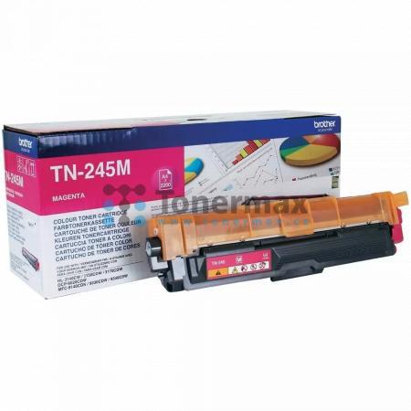 Brother TN-245M, TN245M, originální toner pro tiskárny Brother DCP-9015CDW, DCP-9020CDW, HL-3140CW, HL-3150CDW, HL-3170CDW, MFC-9140CDN, MFC-9330CDW, MFC-9340CDW