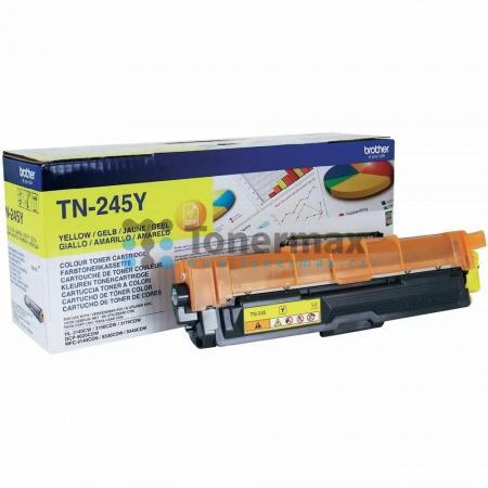 Brother TN-245Y, TN245Y, originální toner pro tiskárny Brother DCP-9015CDW, DCP-9020CDW, HL-3140CW, HL-3150CDW, HL-3170CDW, MFC-9140CDN, MFC-9330CDW, MFC-9340CDW