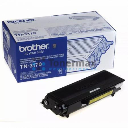 Brother TN-3170, TN3170, originální toner pro tiskárny Brother DCP-8060, DCP-8065DN, HL-5240, HL-5240L, HL-5250DN, HL-5270DN, HL-5280DW, MFC-8460N, MFC-8860DN, MFC-8870DW