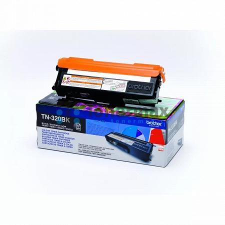 Brother TN-320BK, TN320BK, originální toner pro tiskárny Brother DCP-9055CDN, DCP-9270CDN, HL-4140CN, HL-4150CDN, HL-4570CDW, HL-4570CDWT, MFC-9460CDN, MFC-9465CDN, MFC-9970CDW