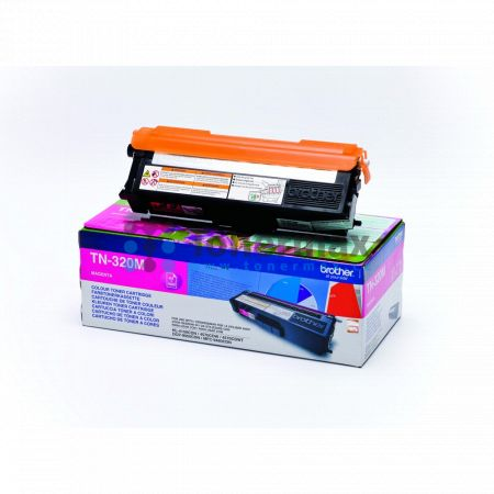 Brother TN-320M, TN320M, originální toner pro tiskárny Brother DCP-9055CDN, DCP-9270CDN, HL-4140CN, HL-4150CDN, HL-4570CDW, HL-4570CDWT, MFC-9460CDN, MFC-9465CDN, MFC-9970CDW