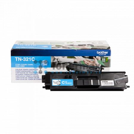 Brother TN-321C, TN321C, originální toner pro tiskárny Brother DCP-L8400CDN, DCP-L8450CDW, HL-L8250CDN, HL-L8350CDW, MFC-L8650CDW, MFC-L8850CDW