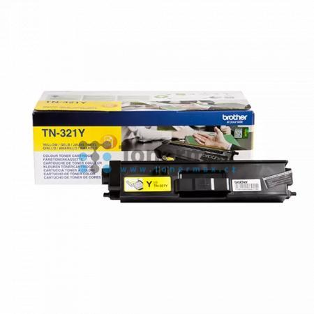 Brother TN-321Y, TN321Y, originální toner pro tiskárny Brother DCP-L8400CDN, DCP-L8450CDW, HL-L8250CDN, HL-L8350CDW, MFC-L8650CDW, MFC-L8850CDW
