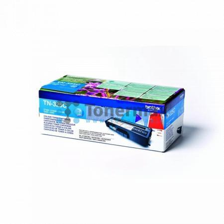 Brother TN-325C, TN325C, originální toner pro tiskárny Brother DCP-9055CDN, DCP-9270CDN, HL-4140CN, HL-4150CDN, HL-4570CDW, HL-4570CDWT, MFC-9460CDN, MFC-9465CDN, MFC-9970CDW