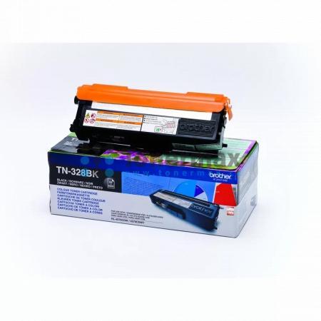 Brother TN-328BK, TN328BK, originální toner pro tiskárny Brother DCP-9270CDN, HL-4570CDW, HL-4570CDWT, MFC-9970CDW