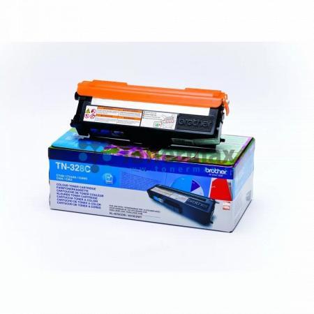 Brother TN-328C, TN328C, originální toner pro tiskárny Brother DCP-9270CDN, HL-4570CDW, HL-4570CDWT, MFC-9970CDW