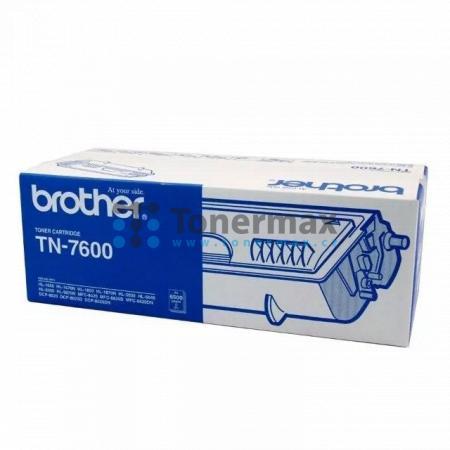Brother TN-7600, TN7600, originální toner pro tiskárny Brother DCP-8020, DCP-8025D, HL-1650, HL-1670N, HL-1850, HL-1870N, HL-5030, HL-5040, HL-5050, HL-5070N, MFC-8420, MFC-8820D