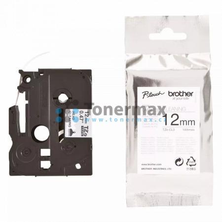 Brother TZe-CL3, 12 mm, čistící kazeta originální pro tiskárny Brother P-touch 18R, PT-18R, P-touch 550, PT-550, P-touch 900, PT-900, P-touch 1000, PT-1000, P-touch 1010, PT-1010, P-touch 1080, PT-1080, P-touch 1090, PT-1090, P-touch 1230PC, PT-1230PC, P-