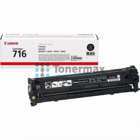 Canon 716, CRG-716, 1980B002, originální toner pro tiskárny Canon i-SENSYS LBP5050, i-SENSYS LBP-5050, LBP-5050, LBP5050, i-SENSYS LBP5050n, i-SENSYS LBP-5050n, LBP-5050n, LBP5050n, i-SENSYS MF8030, i-SENSYS MF-8030, MF-8030, MF8030, i-SENSYS MF8030Cn, i-