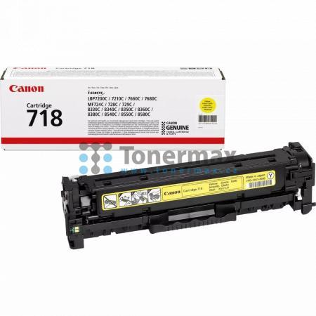 Canon 718, CRG-718, 2659B002, originální toner pro tiskárny Canon i-SENSYS LBP7200Cdn, i-SENSYS LBP-7200Cdn, LBP-7200Cdn, LBP7200Cdn, i-SENSYS LBP7210Cdn, i-SENSYS LBP-7210Cdn, LBP-7210Cdn, LBP7210Cdn, i-SENSYS LBP7660Cdn, i-SENSYS LBP-7660Cdn, LBP-7660Cd