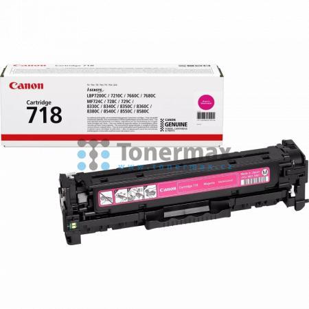 Canon 718, CRG-718, 2660B002, originální toner pro tiskárny Canon i-SENSYS LBP7200Cdn, i-SENSYS LBP-7200Cdn, LBP-7200Cdn, LBP7200Cdn, i-SENSYS LBP7210Cdn, i-SENSYS LBP-7210Cdn, LBP-7210Cdn, LBP7210Cdn, i-SENSYS LBP7660Cdn, i-SENSYS LBP-7660Cdn, LBP-7660Cd