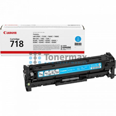 Canon 718, CRG-718, 2661B002, originální toner pro tiskárny Canon i-SENSYS LBP7200Cdn, i-SENSYS LBP-7200Cdn, LBP-7200Cdn, LBP7200Cdn, i-SENSYS LBP7210Cdn, i-SENSYS LBP-7210Cdn, LBP-7210Cdn, LBP7210Cdn, i-SENSYS LBP7660Cdn, i-SENSYS LBP-7660Cdn, LBP-7660Cd