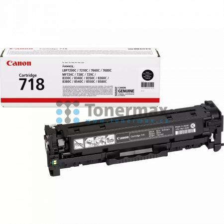 Canon 718, CRG-718, 2662B002, originální toner pro tiskárny Canon i-SENSYS LBP7200Cdn, i-SENSYS LBP-7200Cdn, LBP-7200Cdn, LBP7200Cdn, i-SENSYS LBP7210Cdn, i-SENSYS LBP-7210Cdn, LBP-7210Cdn, LBP7210Cdn, i-SENSYS LBP7660Cdn, i-SENSYS LBP-7660Cdn, LBP-7660Cd