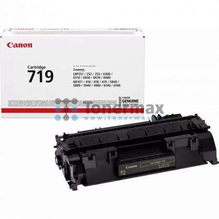 Canon 719, CRG-719, 3479B002, originální toner pro tiskárny Canon i-SENSYS LBP251dw, i-SENSYS LBP252dw, i-SENSYS LBP253x, i-SENSYS LBP6300dn, i-SENSYS LBP-6300dn, LBP-6300dn, LBP6300dn, i-SENSYS LBP6310dn, i-SENSYS LBP-6310dn, LBP-6310dn, LBP6310dn, i-SEN