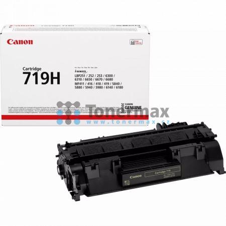 Canon 719H, CRG-719H, 3480B002, originální toner pro tiskárny Canon i-SENSYS LBP251dw, i-SENSYS LBP252dw, i-SENSYS LBP253x, i-SENSYS LBP6300dn, i-SENSYS LBP-6300dn, LBP-6300dn, LBP6300dn, i-SENSYS LBP6310dn, i-SENSYS LBP-6310dn, LBP-6310dn, LBP6310dn, i-S