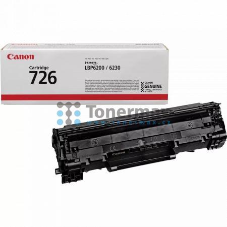 Canon 726, CRG-726, 3483B002, originální toner pro tiskárny Canon i-SENSYS LBP6200d, i-SENSYS LBP-6200d, LBP-6200d, LBP6200d, i-SENSYS LBP6230dw
