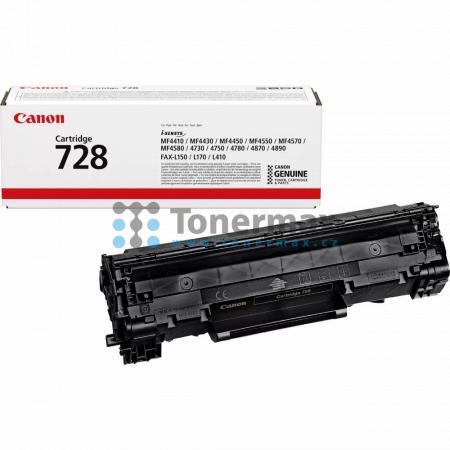 Canon 728, CRG-728, 3500B002, originální toner pro tiskárny Canon Fax-L150, Fax-L170, Fax-L410, i-SENSYS MF4410, i-SENSYS MF-4410, MF-4410, MF4410, i-SENSYS MF4430, i-SENSYS MF-4430, MF-4430, MF4430, i-SENSYS MF4450, i-SENSYS MF-4450, MF-4450, MF4450, i-S