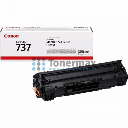 Canon 737, CRG-737, 9435B002, originální toner pro tiskárny Canon i-SENSYS LBP151dw , i-SENSYS MF211, i-SENSYS MF212w, i-Sensys MF216n, i-Sensys MF217w, i-Sensys MF226dn, i-Sensys MF229dw
