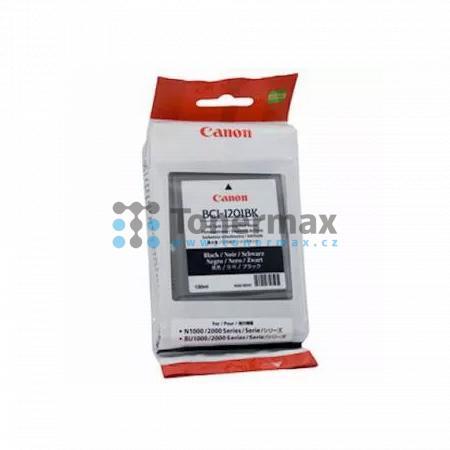 Canon BCI-1201BK, 7337A001, originální cartridge pro tiskárny Canon BIJ-1300, BIJ-1350, BIJ-2300, BIJ-2350, BIJ-N1000, BIJ-N2000