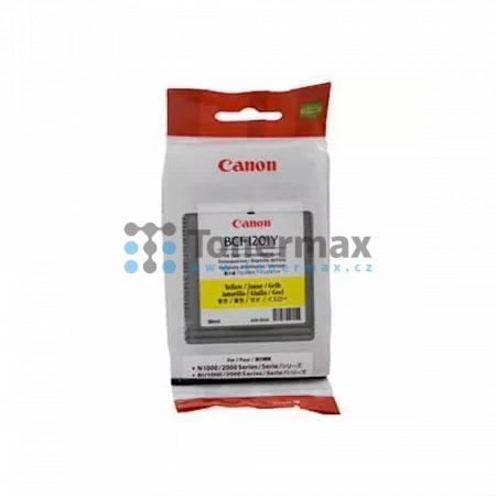 Canon BCI-1201Y, 7340A001, originální cartridge pro tiskárny Canon BIJ-1300, BIJ-1350, BIJ-2300, BIJ-2350, BIJ-N1000, BIJ-N2000