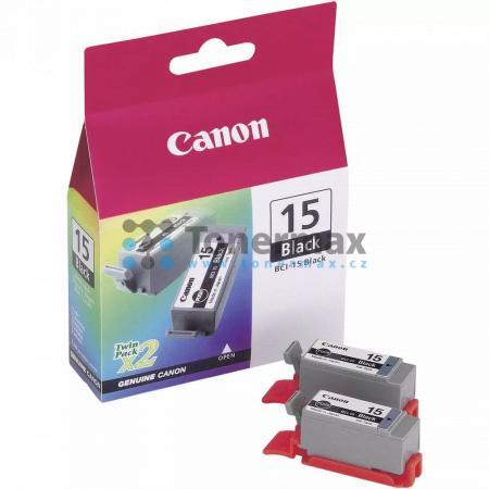 Canon BCI-15Bk, 8190A002, originální cartridge pro tiskárny Canon PIXMA iP90, PIXMA iP90v, i70, i80