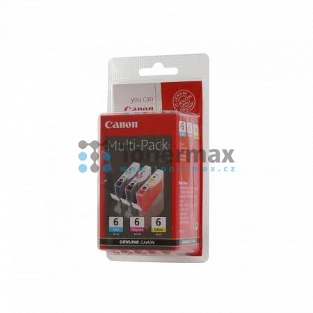 Canon BCI-6 Multi-Pack, 4706A022, originální cartridge pro tiskárny Canon BJC-8200, BJC-8200 Photo, PIXMA MP750, PIXMA MP760, PIXMA MP780, PIXMA iP3000, PIXMA iP4000, PIXMA iP4000R, PIXMA iP5000, PIXMA iP6000D, PIXMA iP8500, S800, S820, S820D, S830, S830D