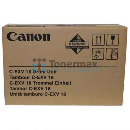 Canon C-EXV18, 0388B002, zobrazovací válec, originální pro tiskárny Canon iR1018, iR-1018, iR1018J, iR-1018J, iR1020, iR-1020, iR1020J, iR-1020J, iR1022A, iR-1022A, iR1022F, iR-1022F, iR1022i, iR-1022i, iR1022iF, iR-1022iF, iR1024A, iR-1024A, iR1024F, iR-