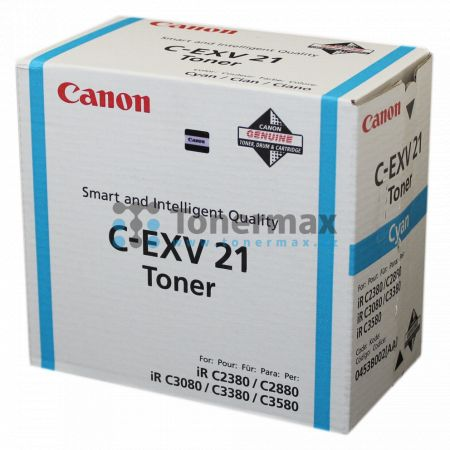 Canon C-EXV21, 0453B002, originální toner pro tiskárny Canon iRC2380i, iR-C2380i, iRC2880, iR-C2880, iRC2880i, iR-C2880i, iRC3080, iR-C3080, iRC3080i, iR-C3080i, iRC3380, iR-C3380, iRC3380i, iR-C3380i, iRC3580, iR-C3580, iRC3580Ne, iR-C3580Ne, iRC3580i, i