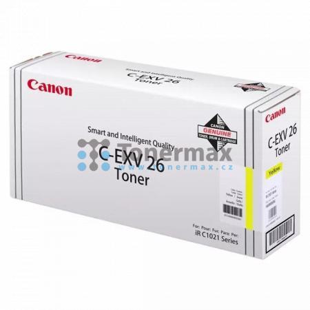 Canon C-EXV26, 1657B006, poškozený obal, originální toner pro tiskárny Canon imageRUNNER C1021i, iRC1021i, imageRUNNER C1021iF, iRC1021iF, imageRUNNER C1028i, iRC1028i, imageRUNNER C1028iF, iRC1028iF
